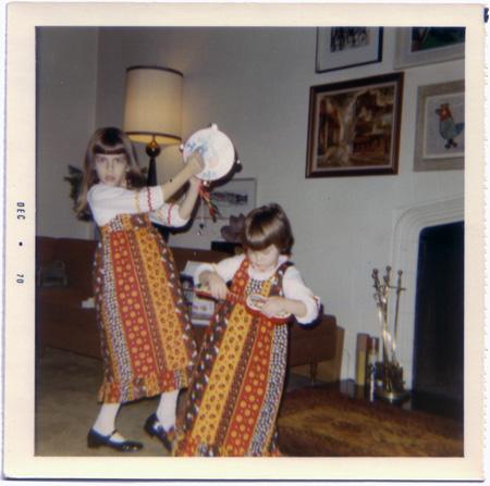 Tamborine dance