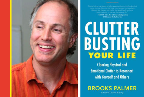 brooks palmer and his book clutter busting your life
